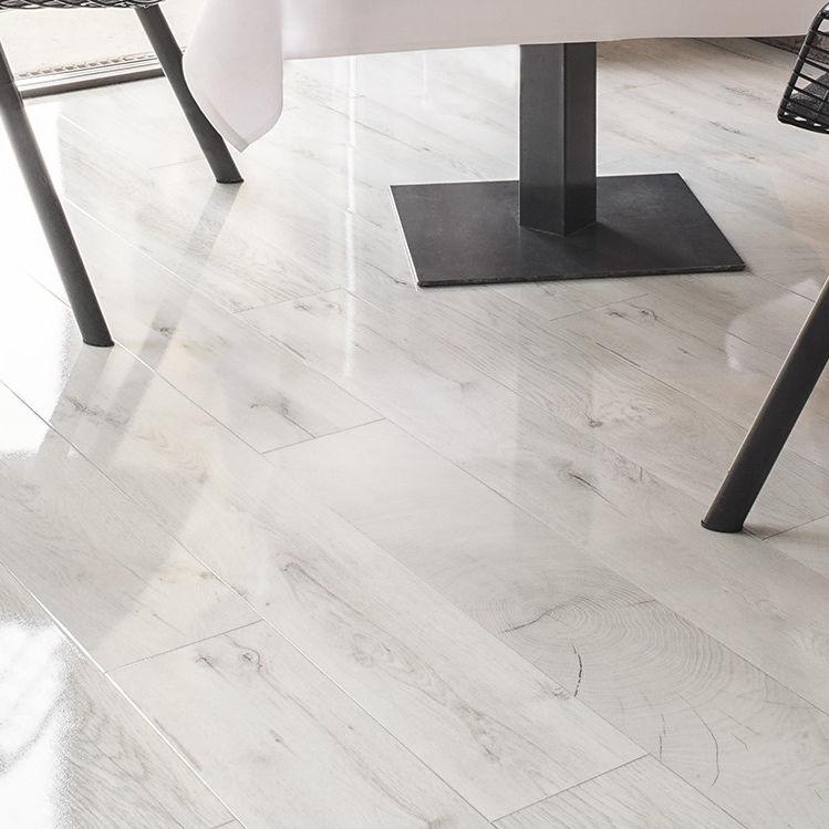 Hdf Laminate Flooring Oak Fresco Snow