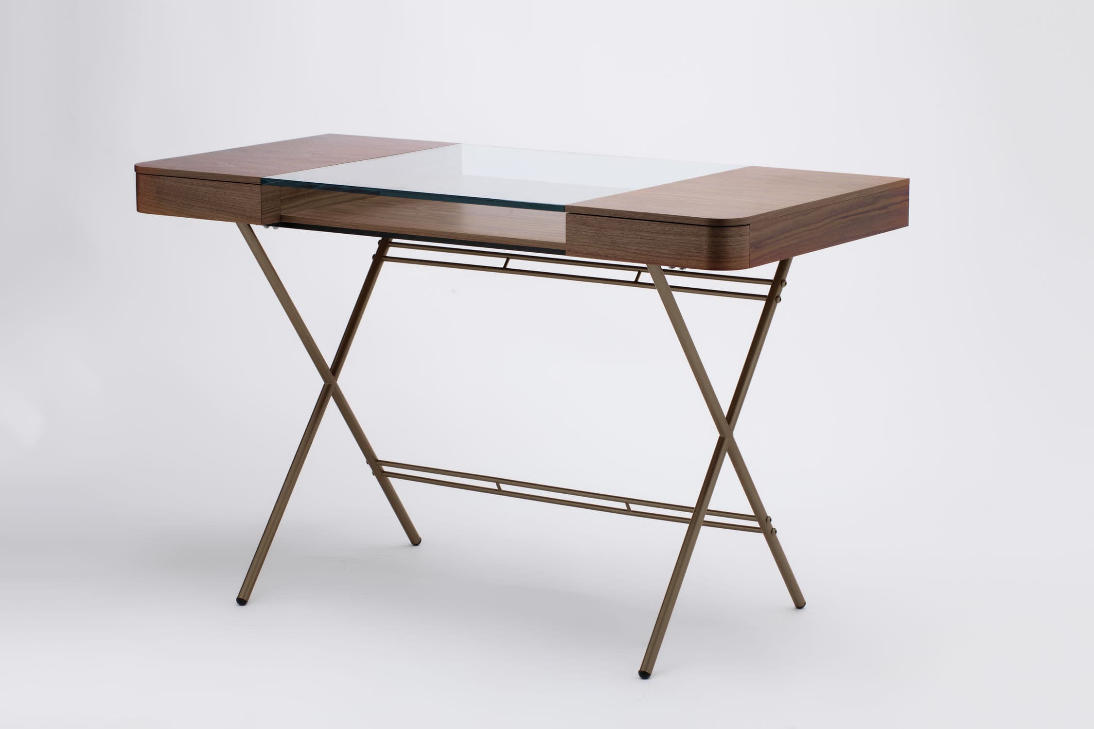 Fine Wood Veneer Desk Mdf Metal Tempered Glass Cosimo By Download Free Architecture Designs Scobabritishbridgeorg