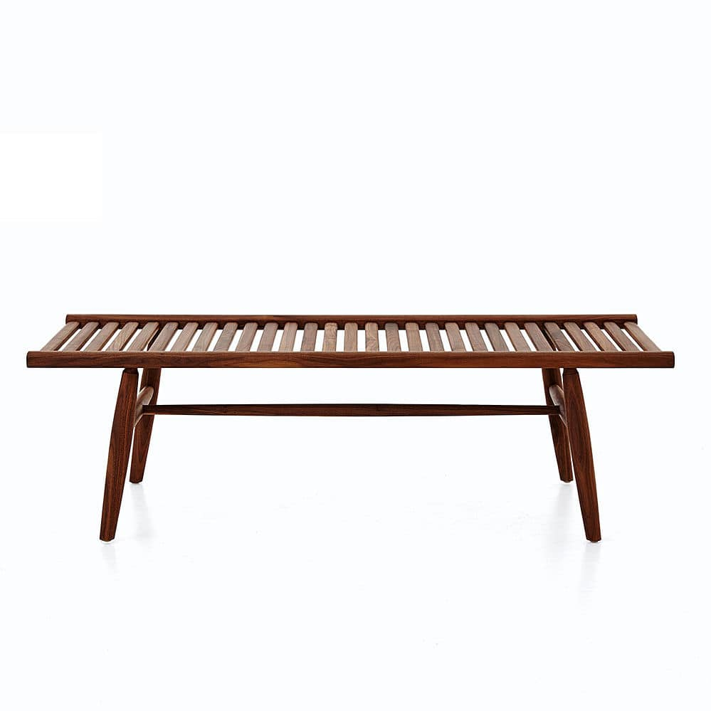 Astonishing Contemporary Bench Solid Wood By Vilhelm Wohlert Gmtry Best Dining Table And Chair Ideas Images Gmtryco