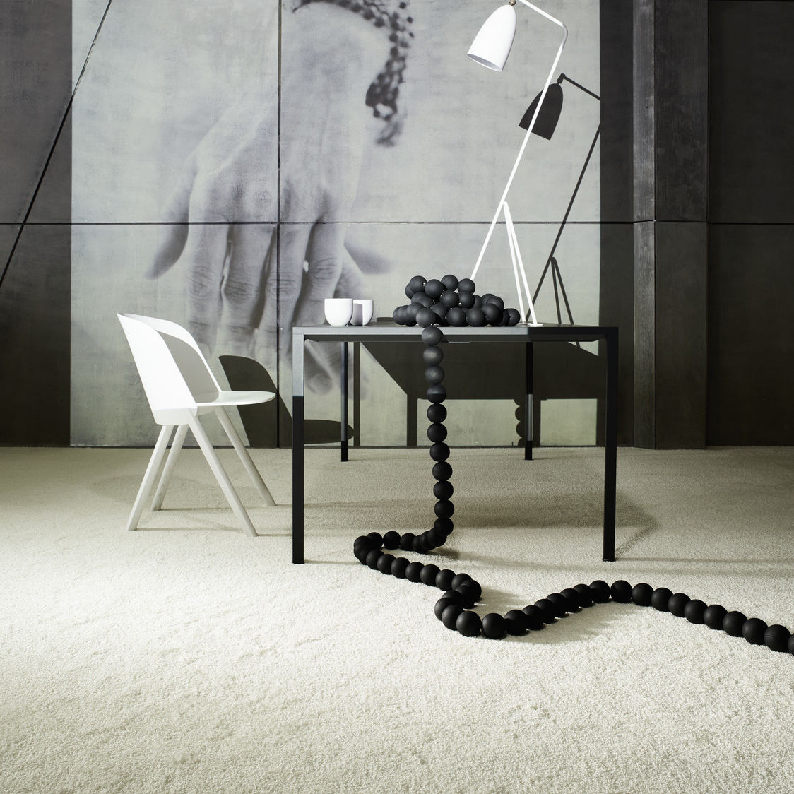 Carpet Tile Smoozy 1600 Tile Object Carpet Tufted Shag Polyamide