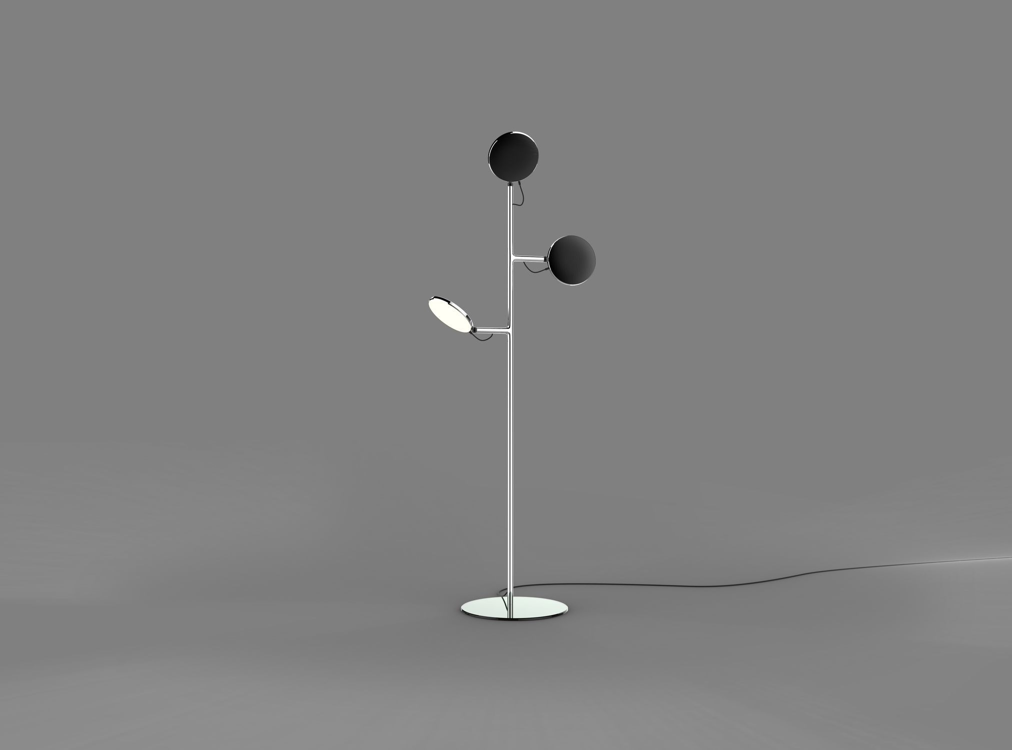 Floor Standing Lamp Avveni Floor 3 Sattler Gmbh Contemporary Aluminum Dimmable