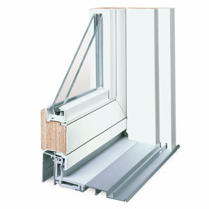 Sliding Patio Door Wooden Double Glazed