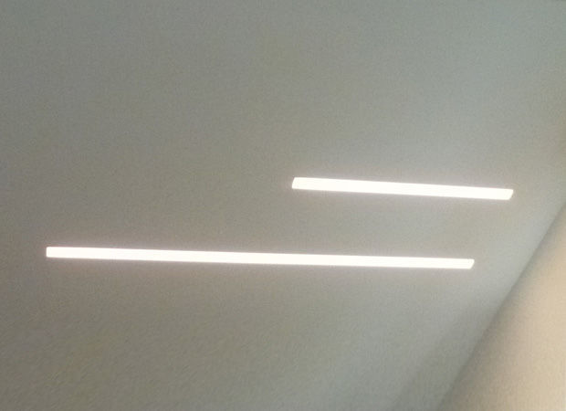 Recessed Wall Light Fixture Led Linear Pmma Slim
