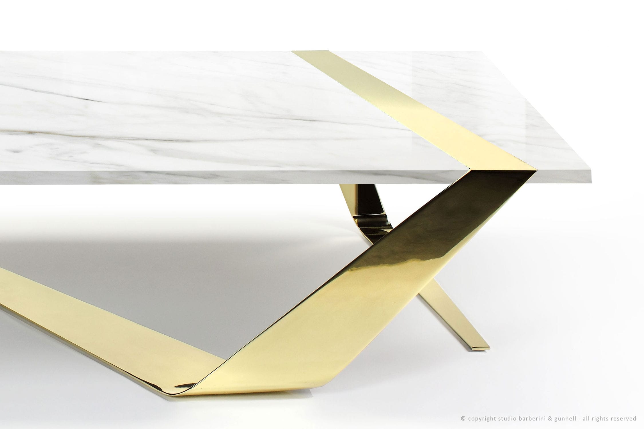 Green Origami Living Table by Patricia Urquiola Budri - Artemest | 1500x2250
