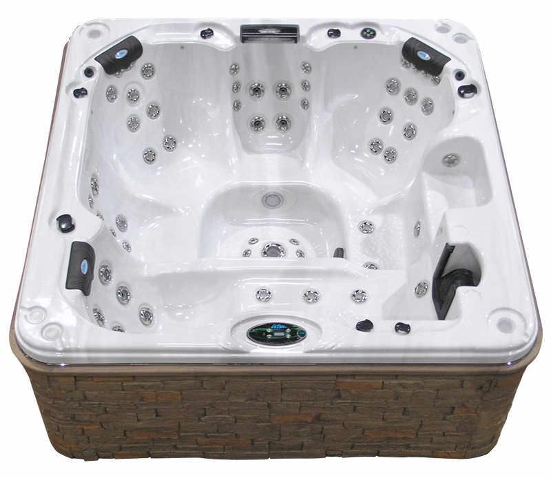 Jacuzzi Es.Built In Hot Tub Square 6 Person