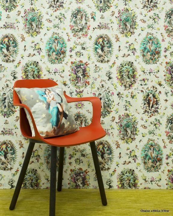 Traditional wallpaper - RECREATION