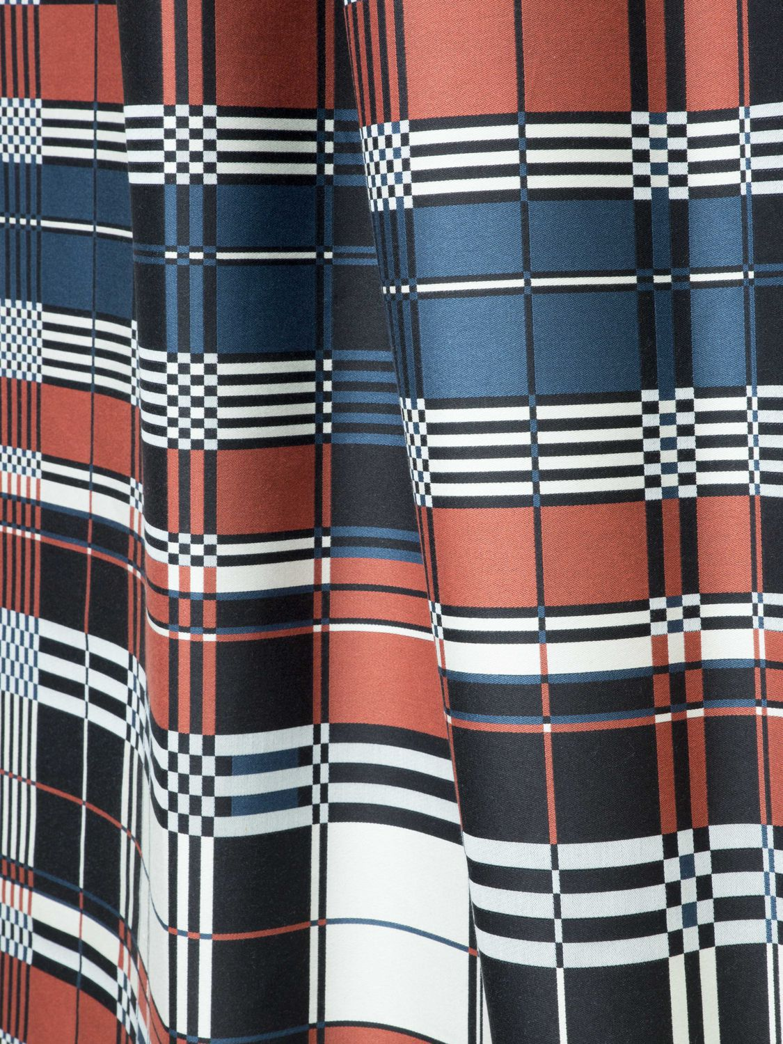 Tissu Jean Paul Gaultier wall fabric / for curtains / upholstery / plaid - nature et