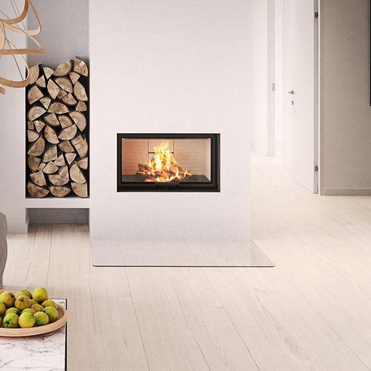 Wood Burning Fireplace Insert Visio 1 Rais