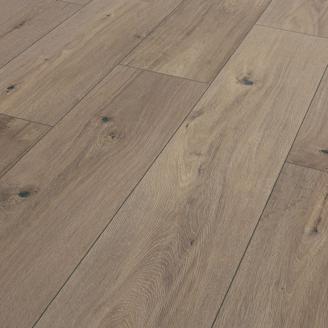 Oak Wide Laminate Flooring T10 Ter, Wide Plank Laminate Hardwood Flooring