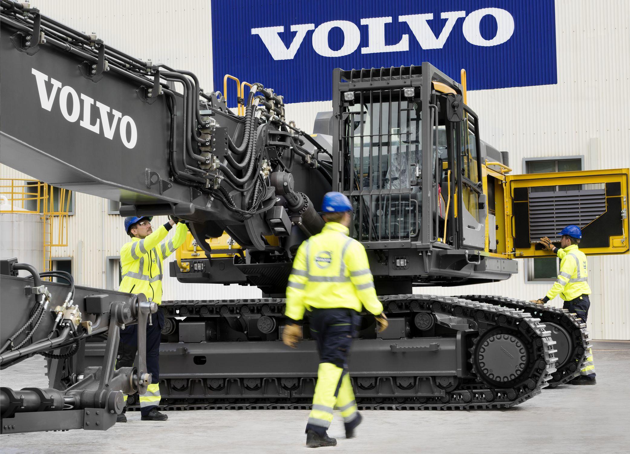 Crawler excavator / demolition / for construction / diesel EC480E HR Volvo  Construction Equipment Germany GmbH