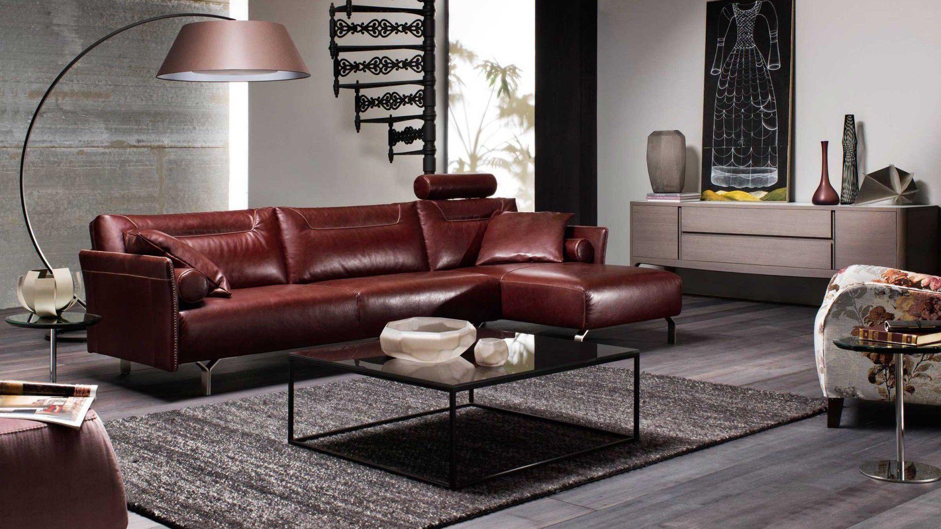 Divano In Pelle Natuzzi.Contemporary Sofa Tenore Natuzzi Leather Fabric 2 Person