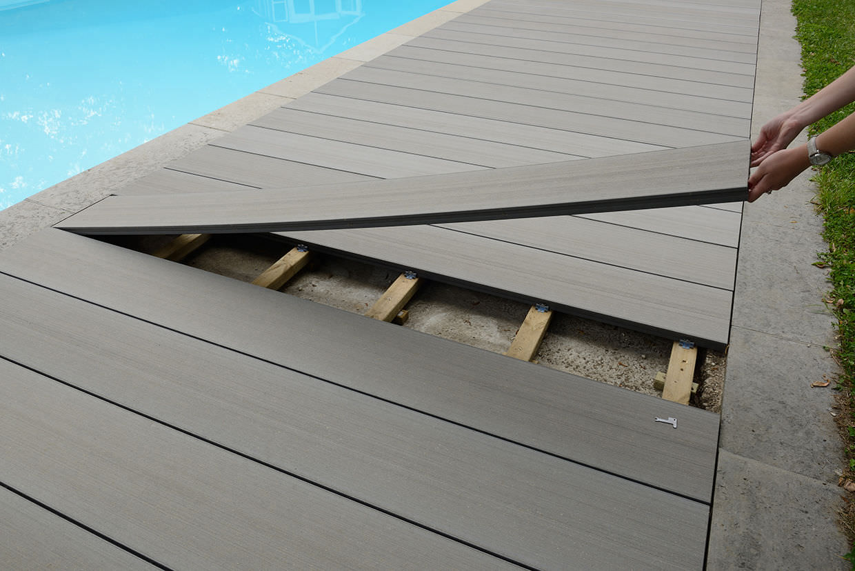 Wpc Deck Board Water Repellent 100 Recyclable Deck 30