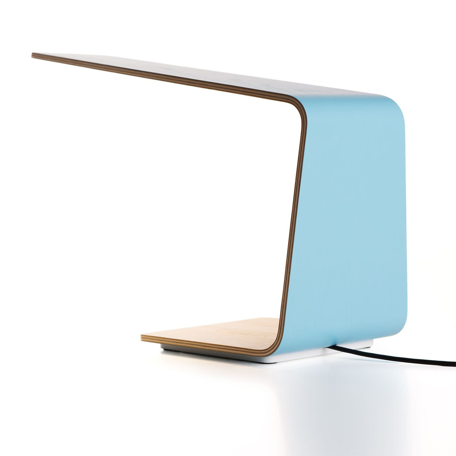 Bedside Table Lamp Led 1 Tunto Contemporary Wooden Led