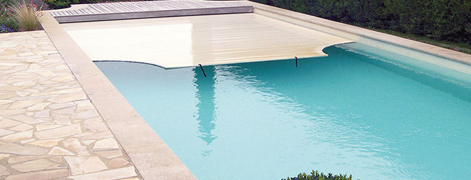Automatic swimming pool cover / thermal / immersed - WALU ...