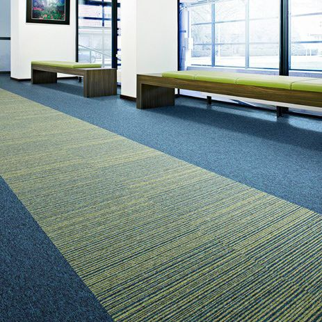 Carpet Tile Tufted Loop Pile Synthetic Essence