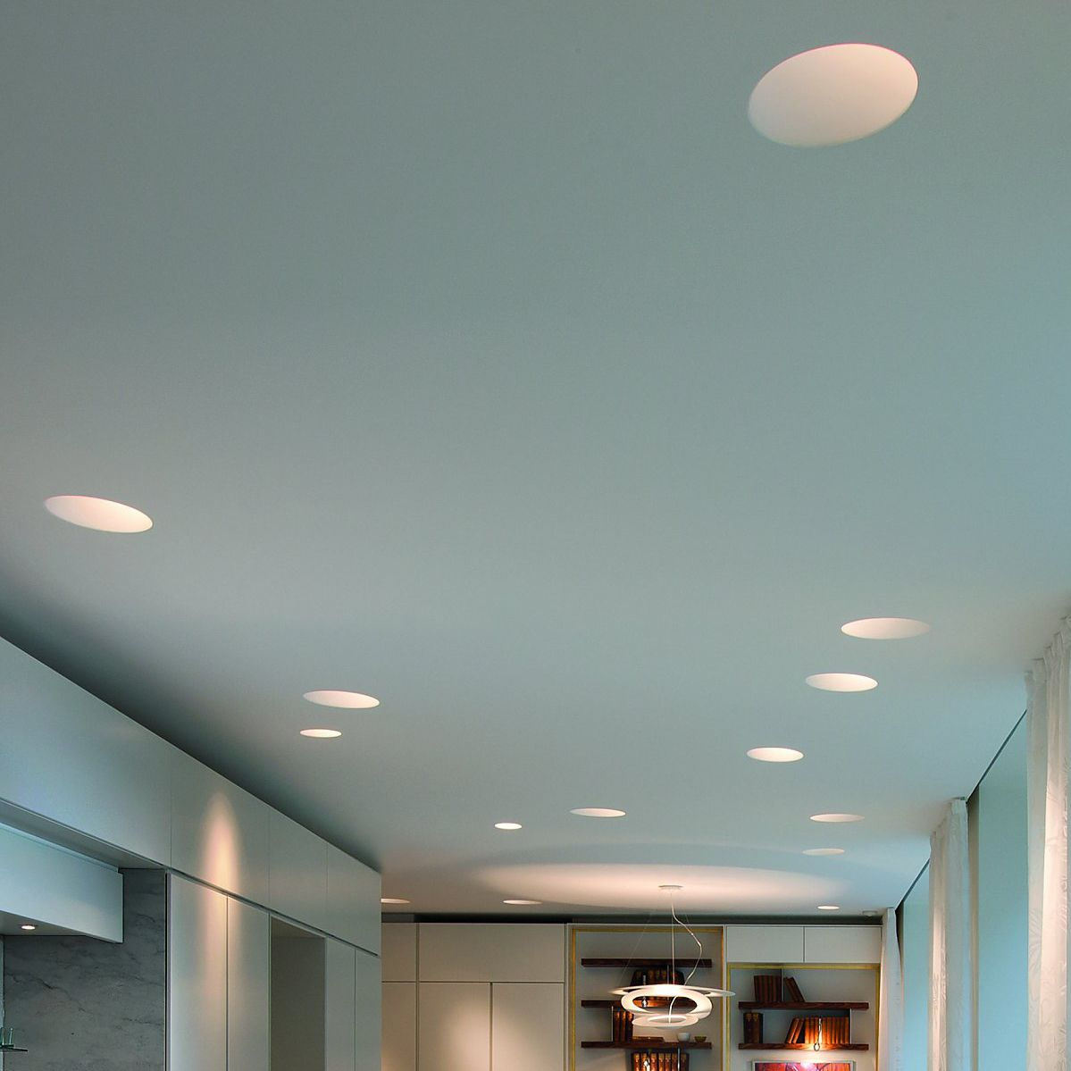 Light Cone L Contemporary Ceiling Round Fibergl Led By Ingo Maurer Archiexpo