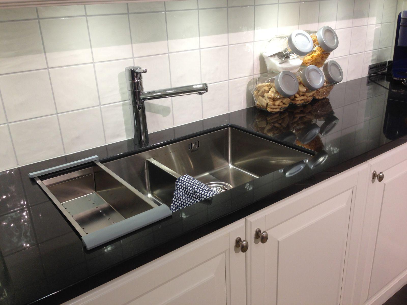 Resin Countertop Stone Granite Kitchen Nero Assoluto