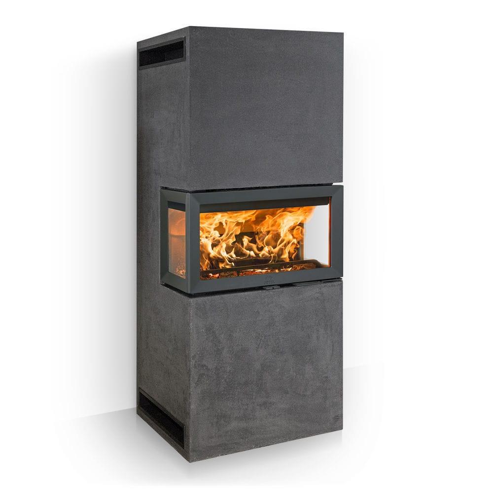 Wood Burning Fireplace Insert 3 Sided Fs 620 Jotul