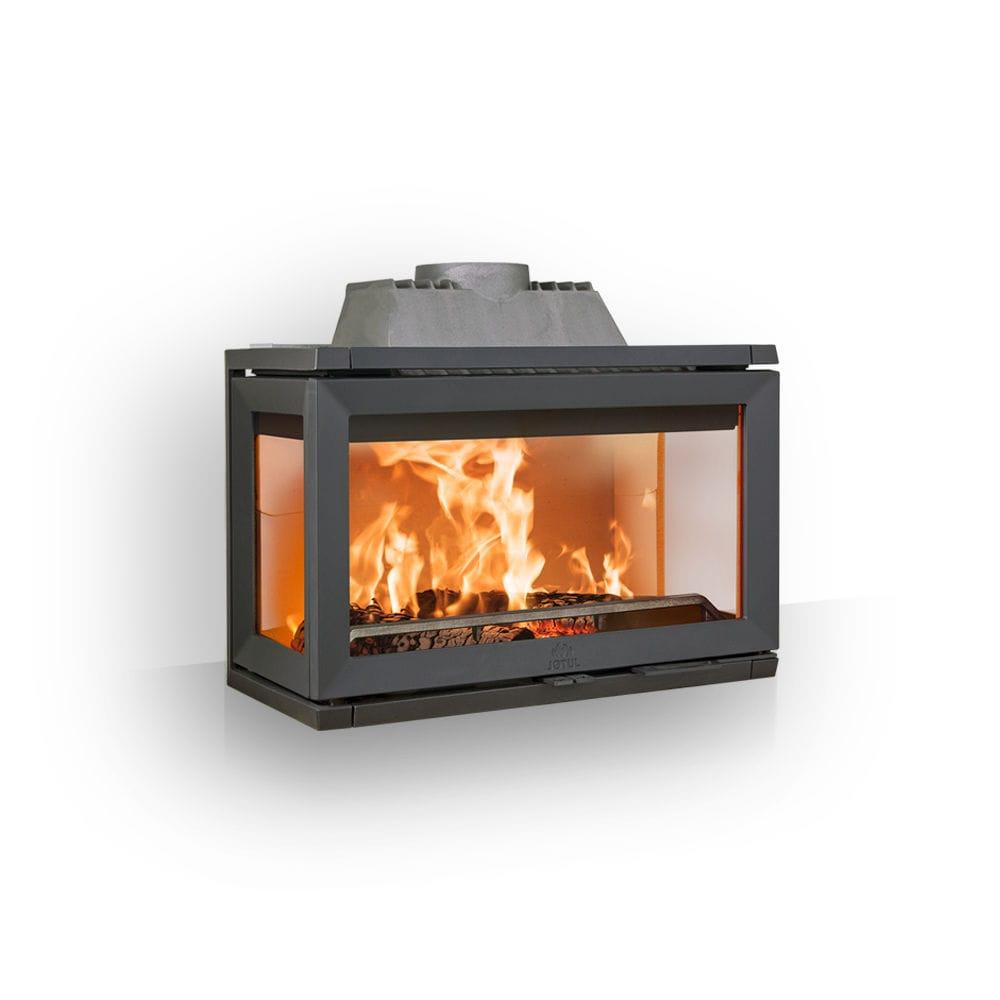 Wood Burning Fireplace Insert 3 Sided I 620 Series Jotul