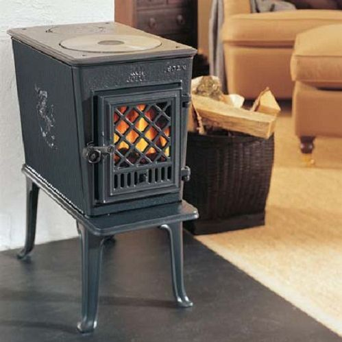 Wood Heating Stove Cast Iron Traditional 5 Kw 10 Kw F
