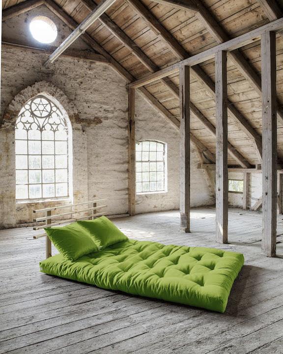 Sofa Bed Contemporary Wooden 3 Seater Shin Sano Karup