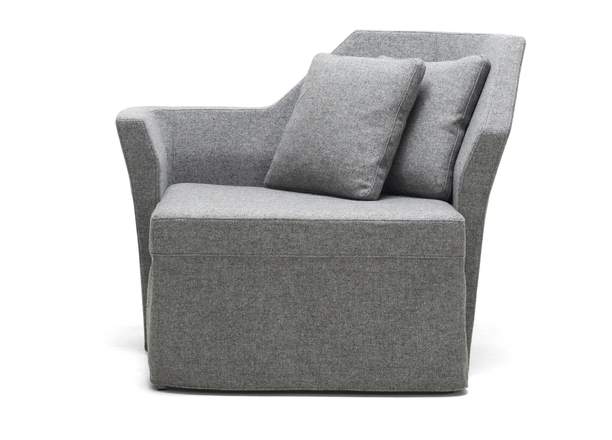 Contemporary Armchair Textile Bed Collar By Jesper