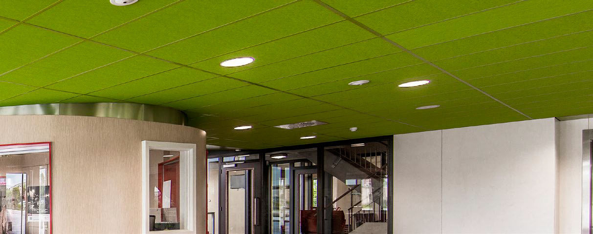 Stone Wool Suspended Ceiling Color