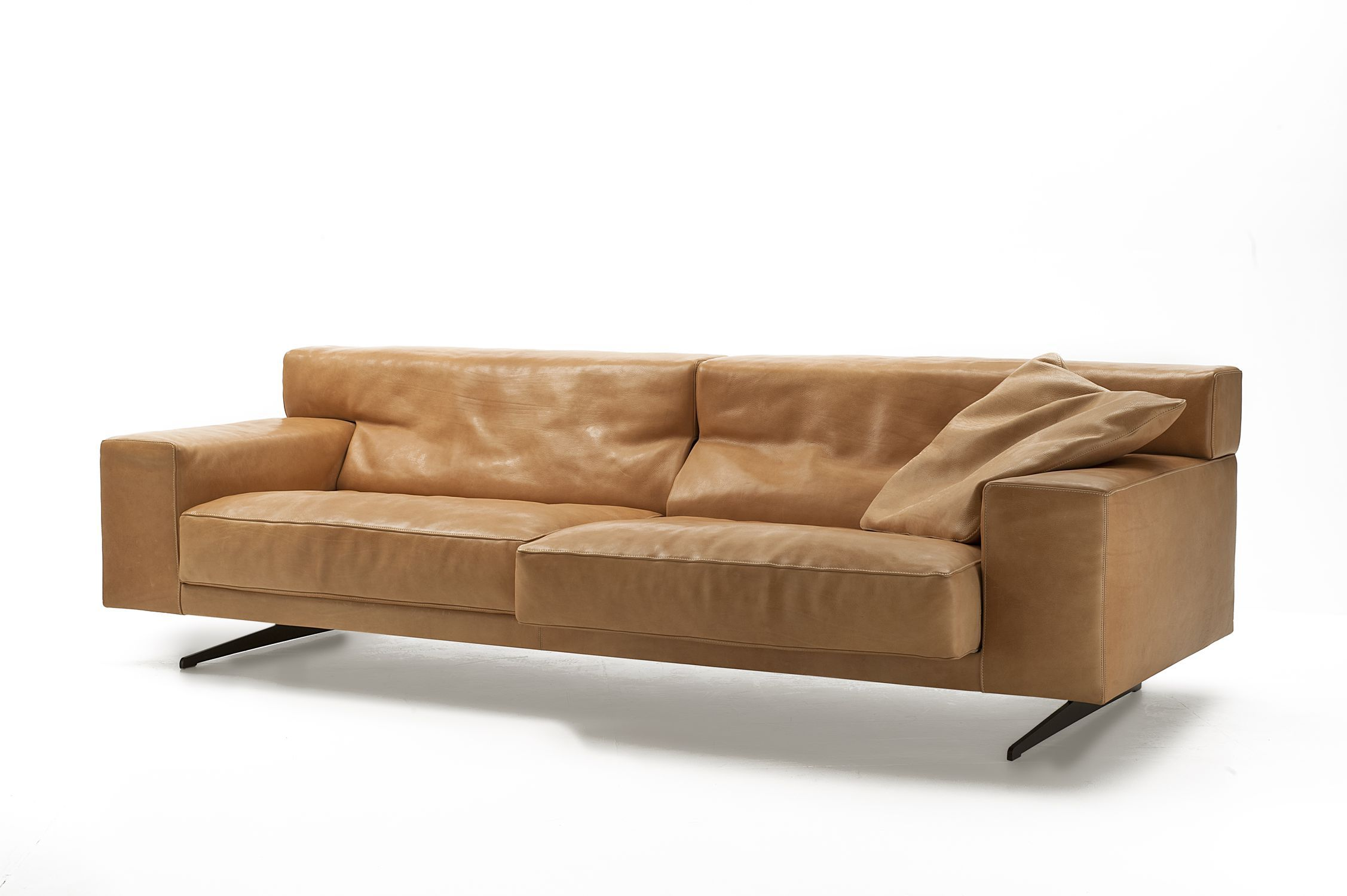 Strange Contemporary Sofa Leather 2 Person 3 Seater Mondial Ncnpc Chair Design For Home Ncnpcorg