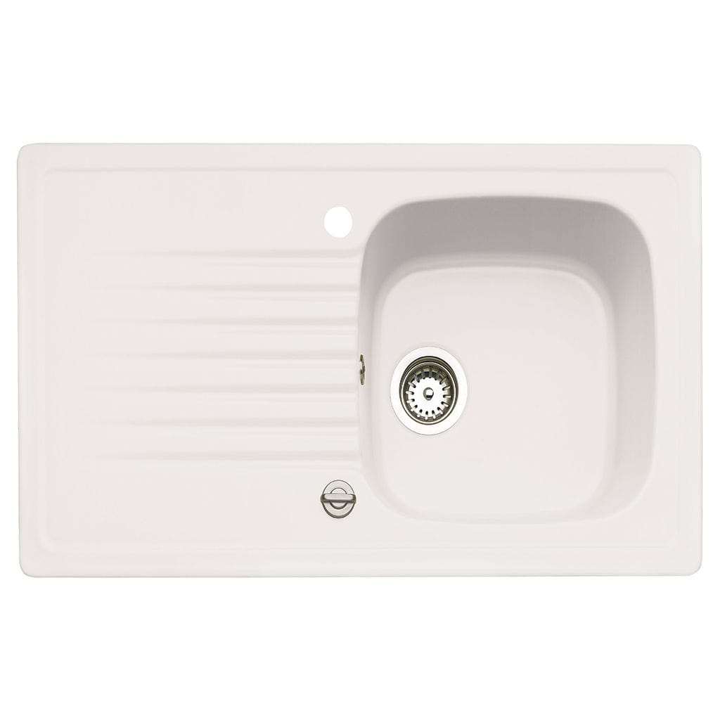 Lavelli X Cucina In Ceramica single-bowl kitchen sink / ceramic / overmount / with