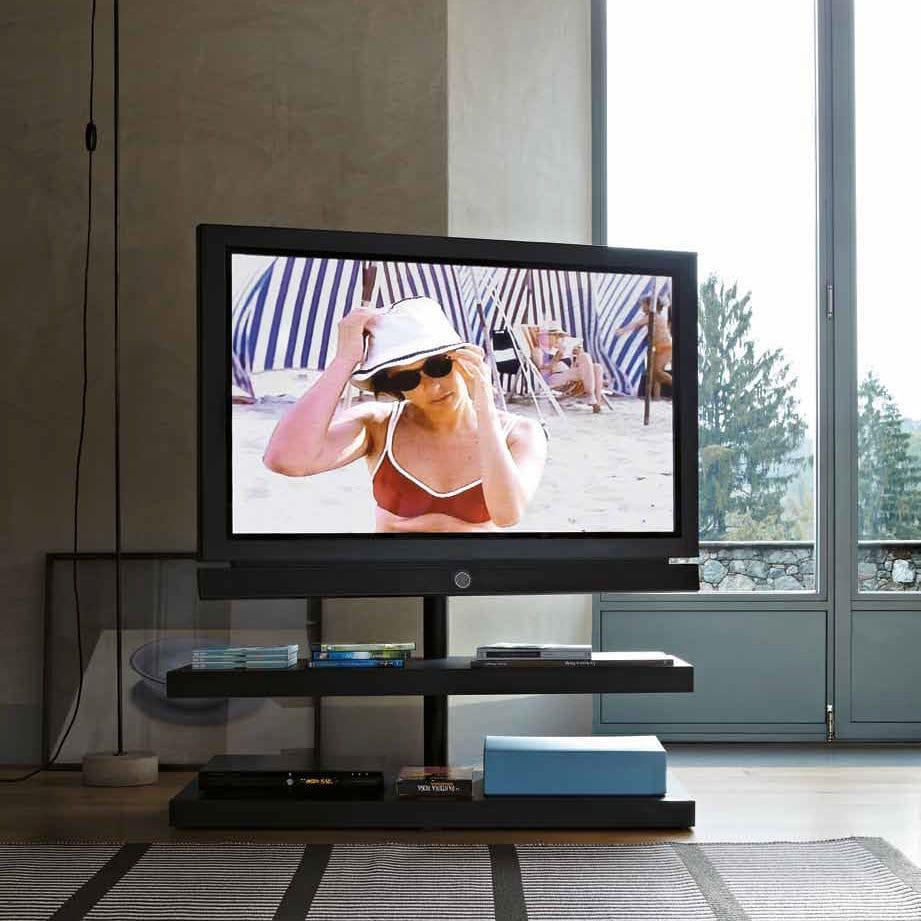 Desalto Porta Tv.Contemporary Tv Cabinet Hi Fi Steel Sail By Caronni