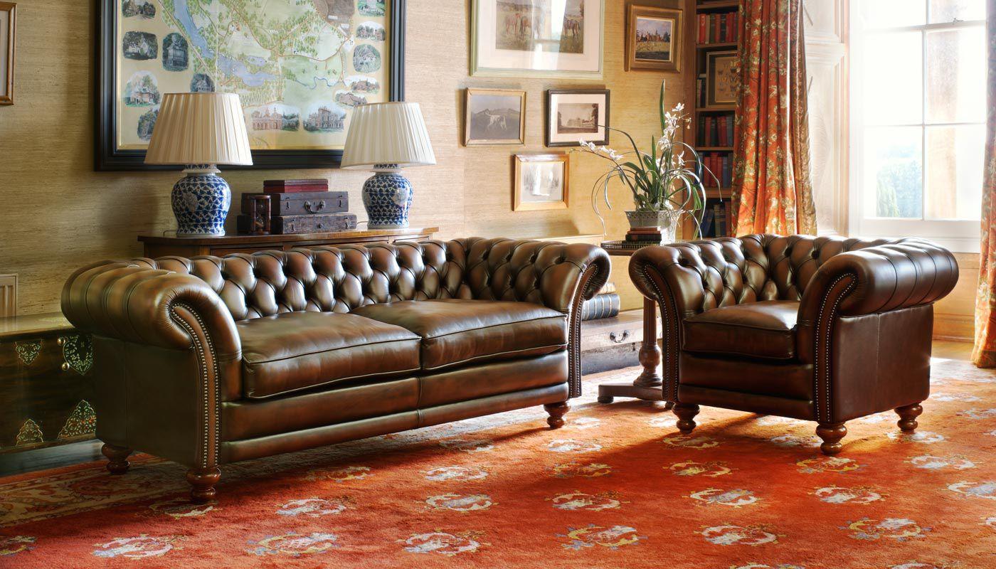 Modular Sofa Chesterfield Velvet Linen Kingston