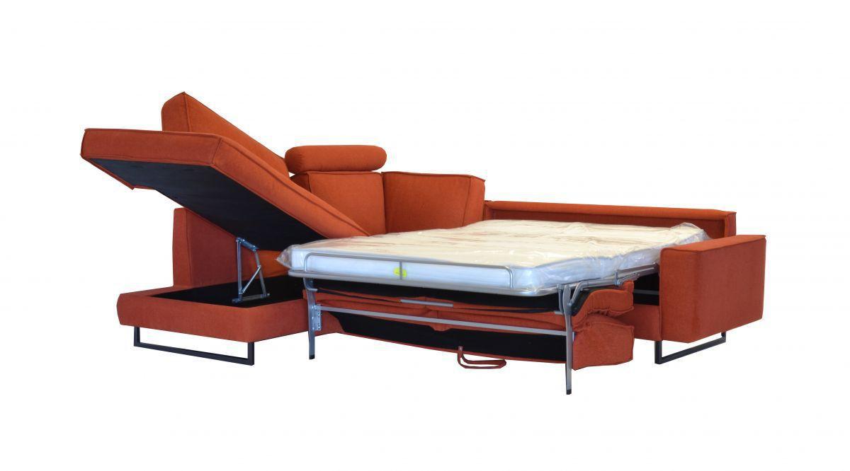 Sofa bed / modular / contemporary / fabric - GENIUS - SBA ...