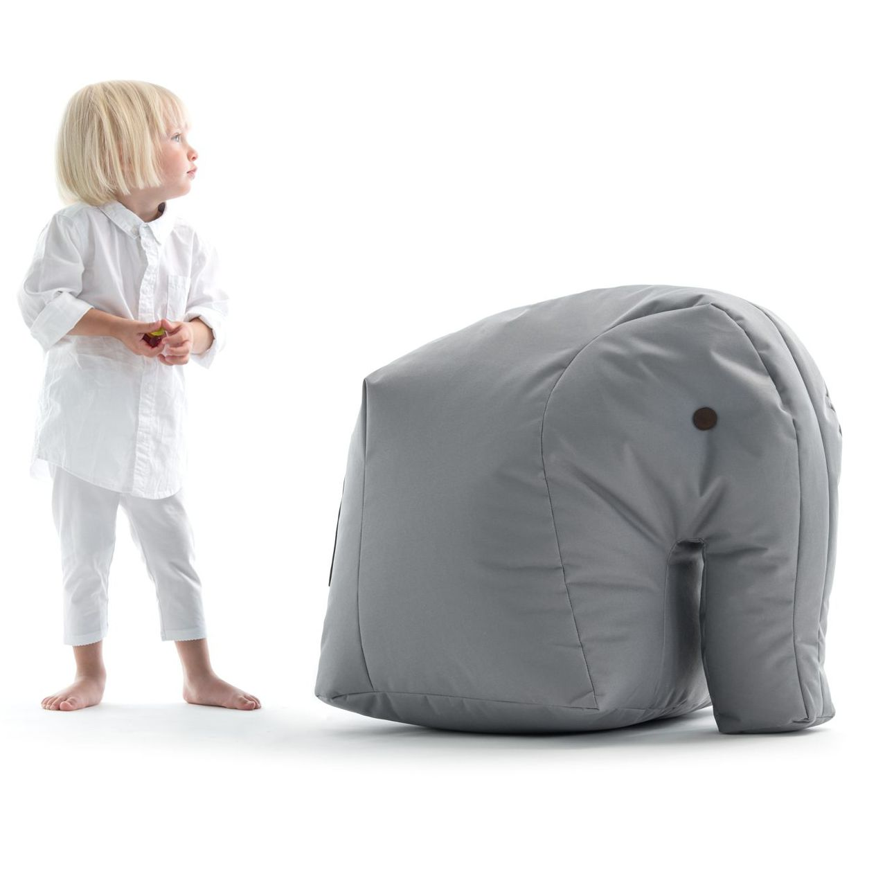 Admirable Contemporary Bean Bag Fabric Childs Gray Carl By Ibusinesslaw Wood Chair Design Ideas Ibusinesslaworg