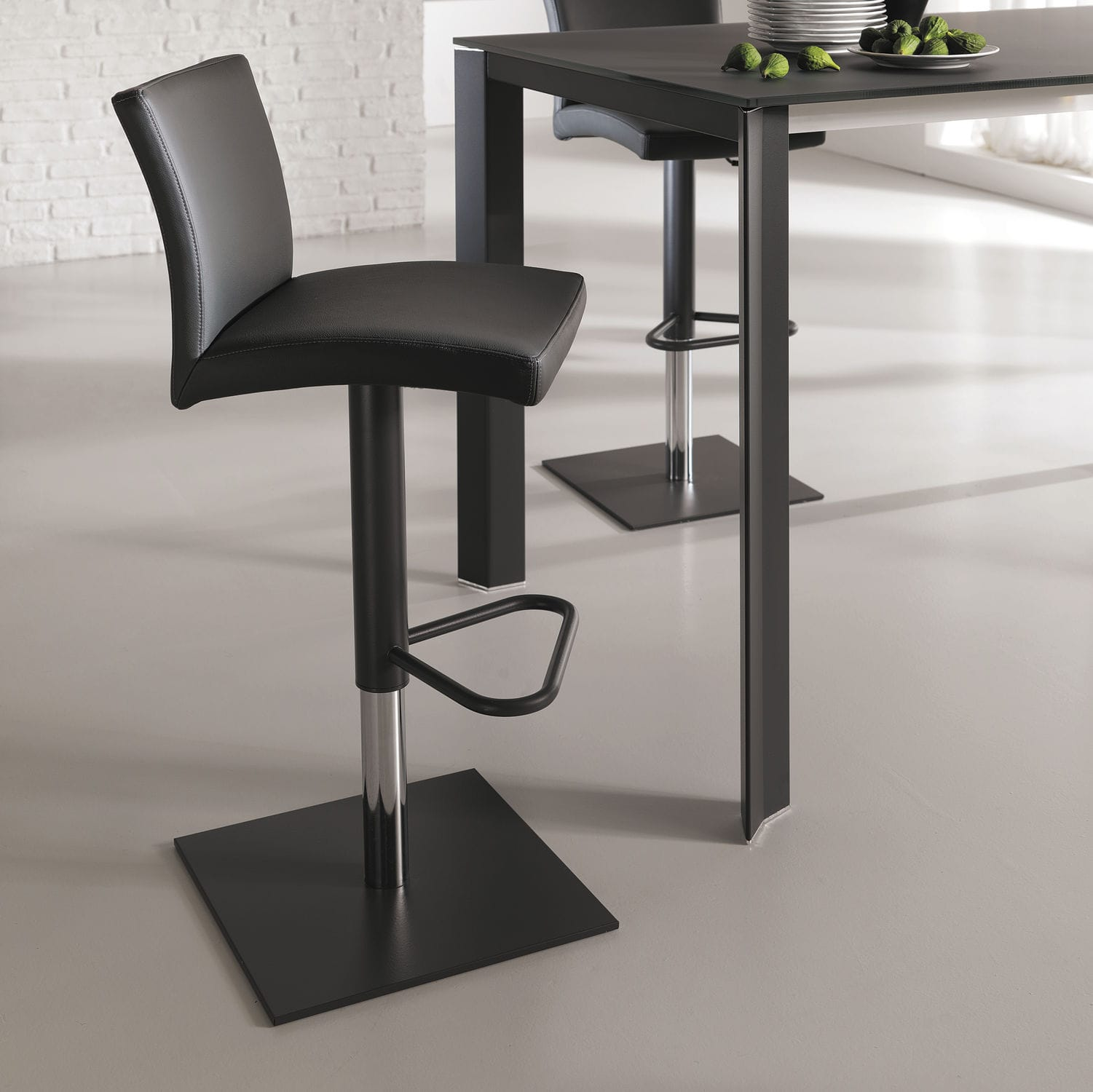 Cool Contemporary Bar Chair Upholstered Swivel Adjustable Gamerscity Chair Design For Home Gamerscityorg