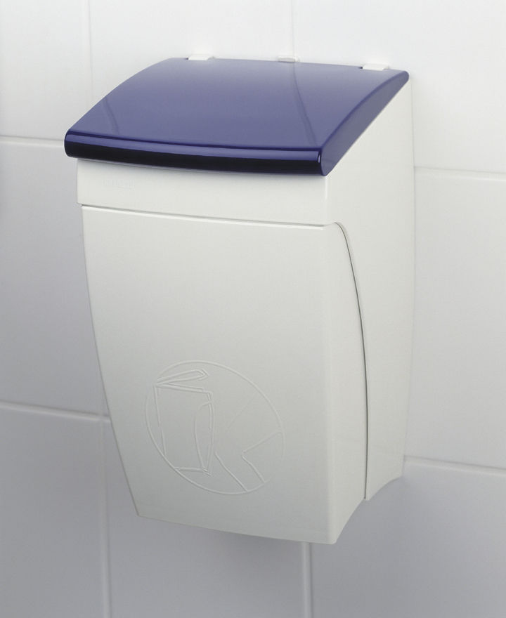 Kitchen Trash Can Wall Mounted Plastic Contemporary Ny 924 480