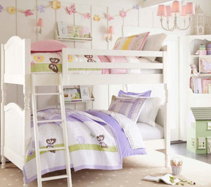 Bunk Bed Single Contemporary Child S Unisex