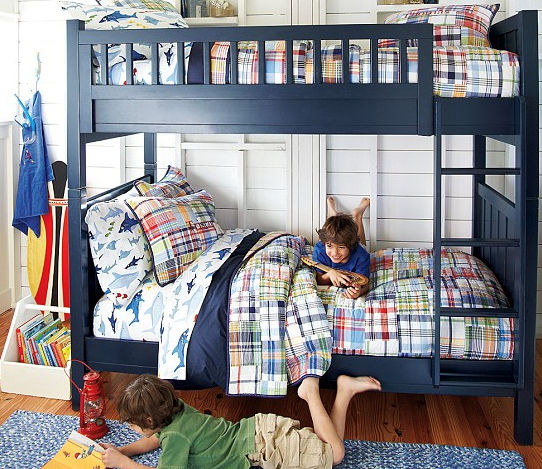 Bunk Bed Single Contemporary Child S Camp Pottery Barn Kids