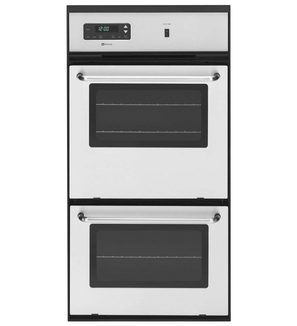 Gas Oven Cwg3600aas Maytag Built In 2 Chamber