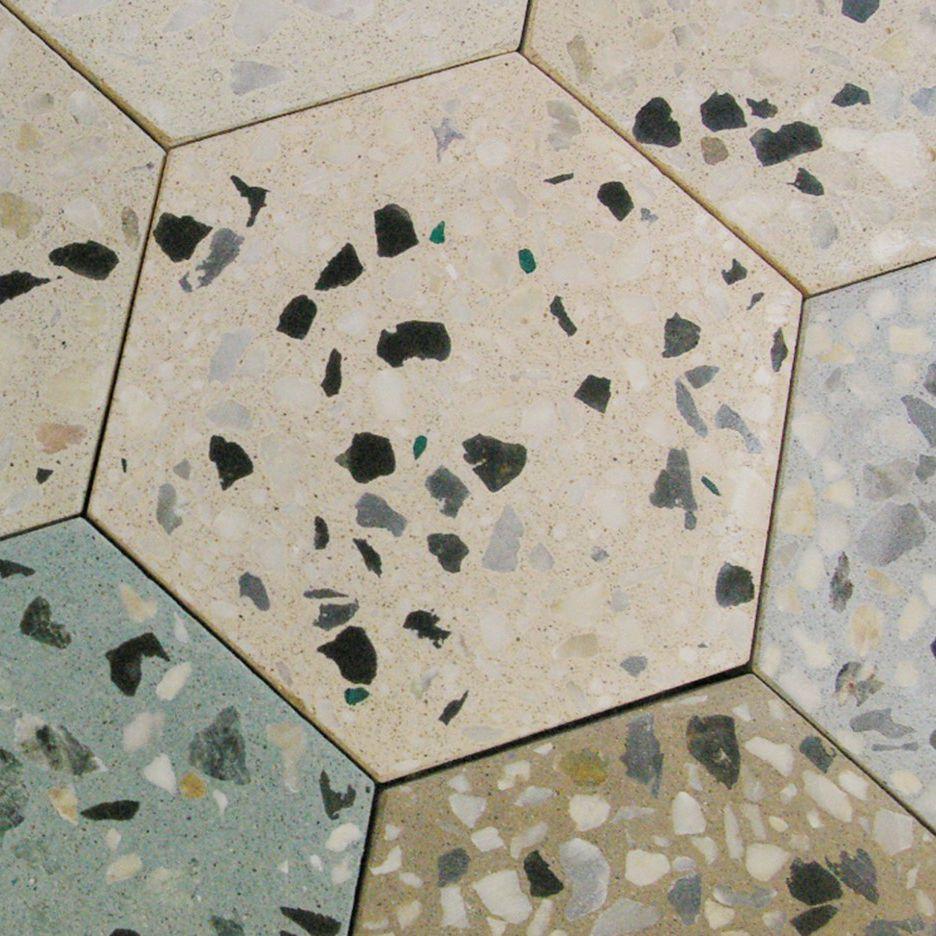 Terrazzo Look Tile Indoor Outdoor Wall Kaza Concrete