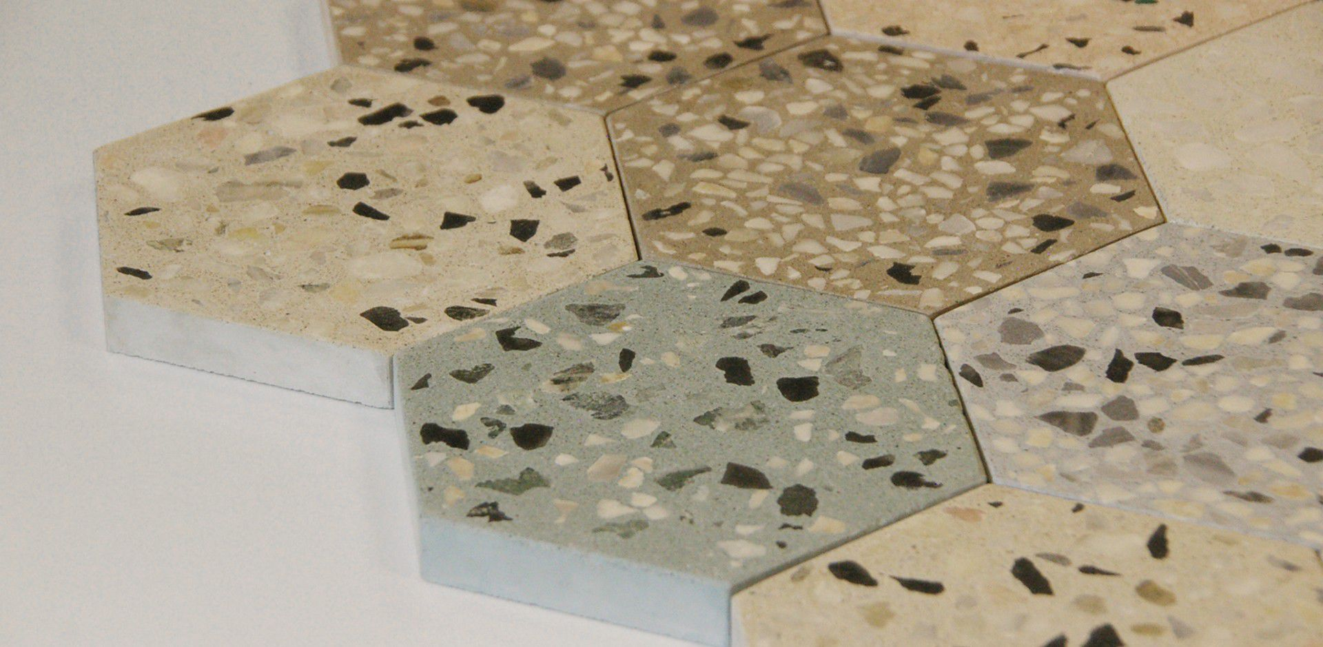 Terrazzo Look Tile Indoor Outdoor Wall Kaza Concrete