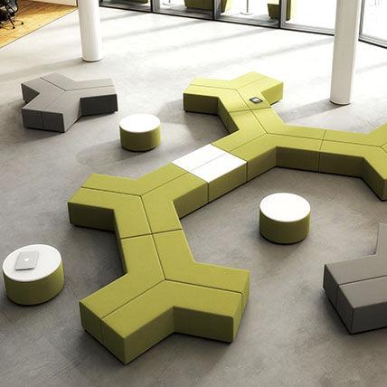 Modular Upholstered Bench Vibe