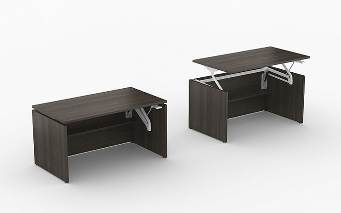 Workstation desk / steel / laminate / contemporary SWIFT LIFT Office  Furniture Group