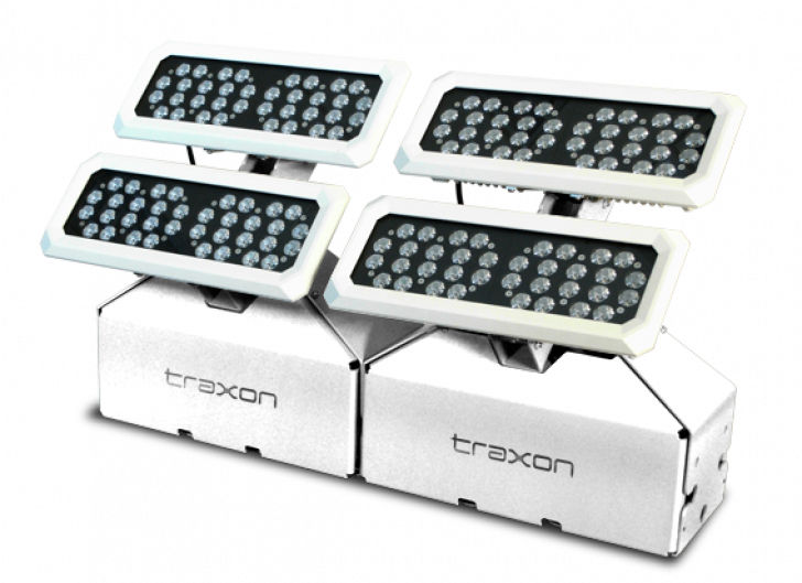 Public space floodlight / wall washer / outdoor SHIELD AC EXTEND Traxon  Technologies