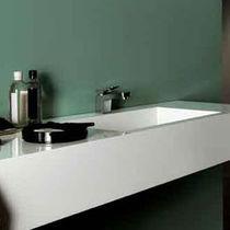 Washbasin mixer tap / nickel / brass / chrome