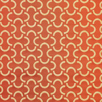 Upholstery fabric / geometric pattern / FR polyester / cotton