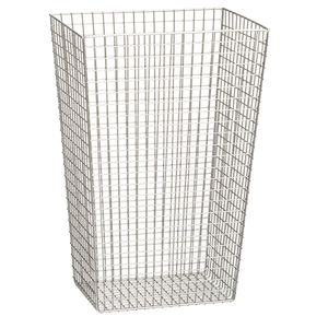 stainless steel waste paper basket