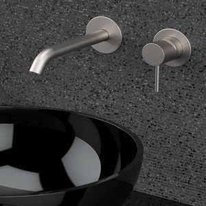 washbasin mixer tap / handbasin / wall-mounted / built-in