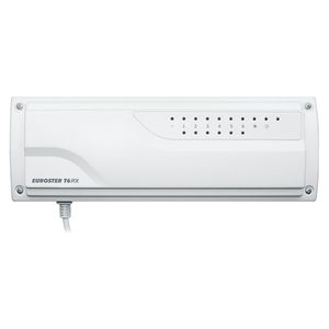 wall-mounted heating controller / wireless / for underfloor heating