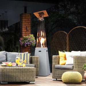 floor-mounted patio heater