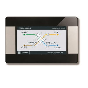 ventilation system touch screen
